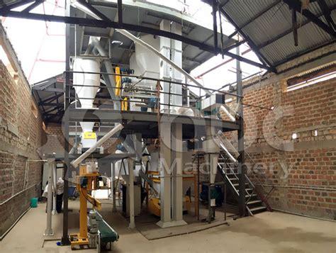 1 2 ton per hour animal feed production line in uganda