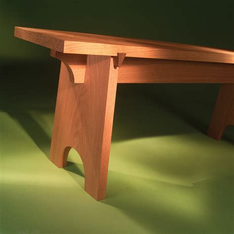 shaker bench pattern woodcraft carving tools woodworking