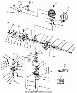 Poulan Pp420 Gas Blower  420 Gas Blower Parts Diagram For