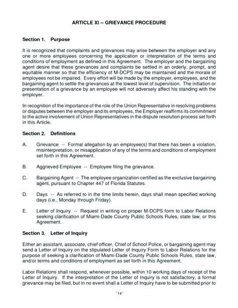formal complaint letter  employer loginnelkrivercom