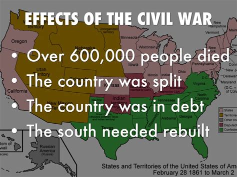 civil war effects