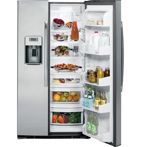 ge profile series energy star  cu ft side  side refrigerator psekshss  appliances