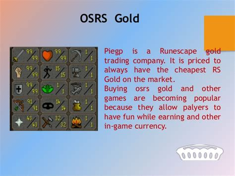 Piegp Cheap Runescape Gold  Buy Rs Gold, Osrs Gold