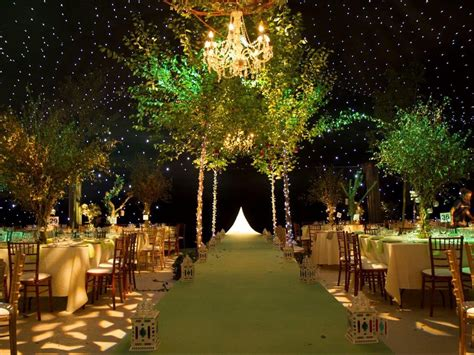 Unexpected Forest Themed Indoor Wedding Ideas