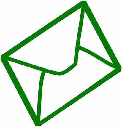 Clipart Mail Envelope Generic Clip Simple Transparent