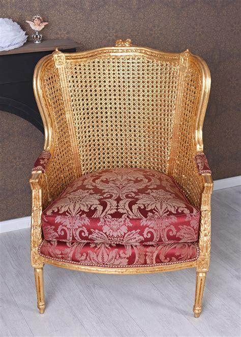 poltrona a orecchioni poltrona a orecchioni chateau de versailles barocco sedia