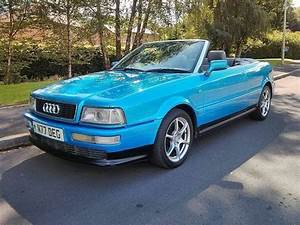 Audi 80 Cabriolet In Kingfisher Blue