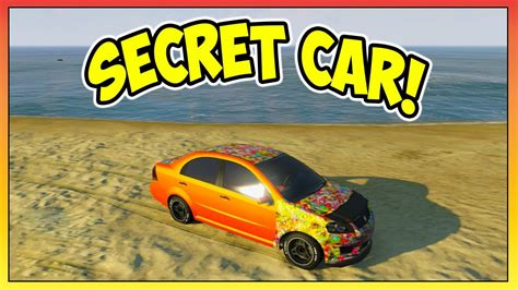 gta  secret car asea locationtutorial rarest car