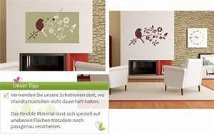 Schablonen Zum Streichen : wandschablonen zum ausmalen h user immobilien bau ~ Lizthompson.info Haus und Dekorationen