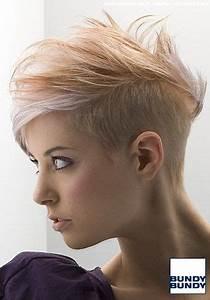 Sidecut Frauen Kurzhaar : blond gestr hnter short cut mit leichtem undercut haare pinterest d nnes haar haarschnitt ~ Frokenaadalensverden.com Haus und Dekorationen