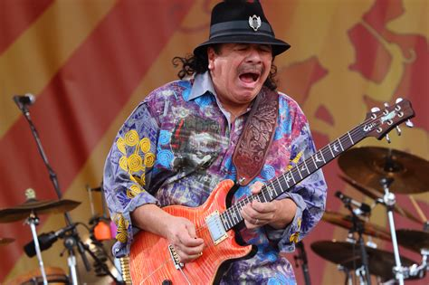 Carlos Santana Wants To Save The World With Music