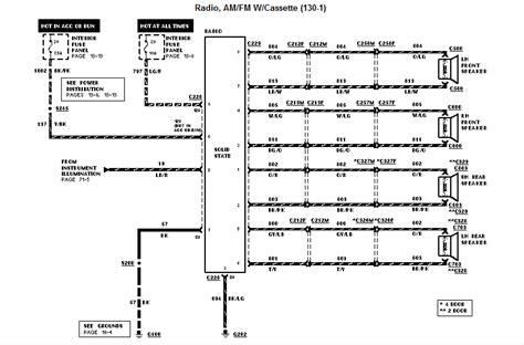 wiring diagram   ford explorer  xl
