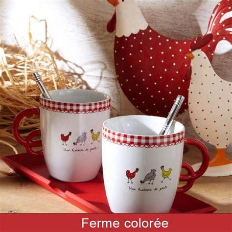 poule cuisine vaisselle plateau mug déco cuisine déco poule