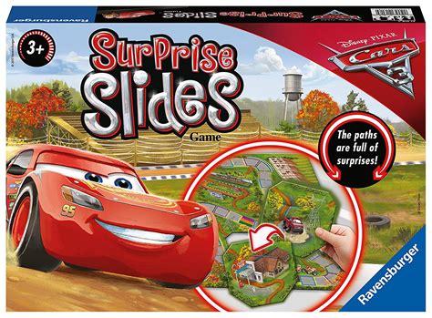 Disney Pixar Cars 3 'surprise Slides' Board Game 4005556213184