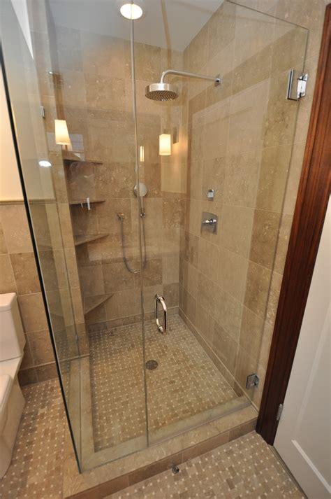 corner shelves for shower bathroom craftsman with glass