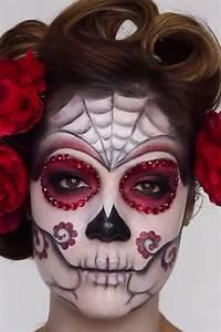 Halloween Schmink Bilder : mexikanische totenmaske schmink tutorial bilder m ~ Frokenaadalensverden.com Haus und Dekorationen