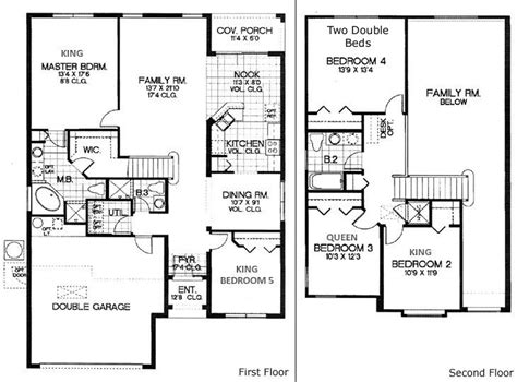 house plans 5 bedrooms 5 bedroom house floor plans floor plans