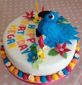 Rio the parrot birthday cake - Cake by Yummy Scrummy Cake
