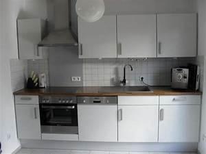 Küchenzeile Mit Kühlschrank : k chenzeile mit einbauger te freistehender k hlschrank zus gro er schrank in holzhausen ~ Sanjose-hotels-ca.com Haus und Dekorationen
