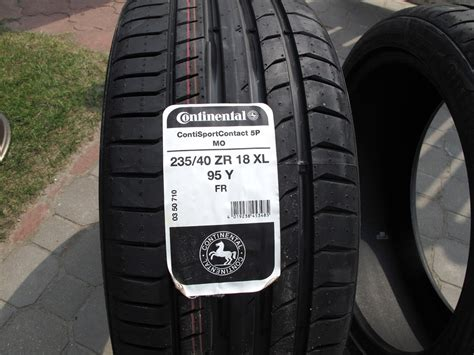 Continental Contisportcontact 5p 235/40 R18 + фото