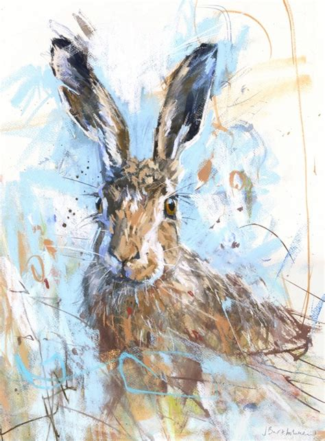 spring hare animal prints prints