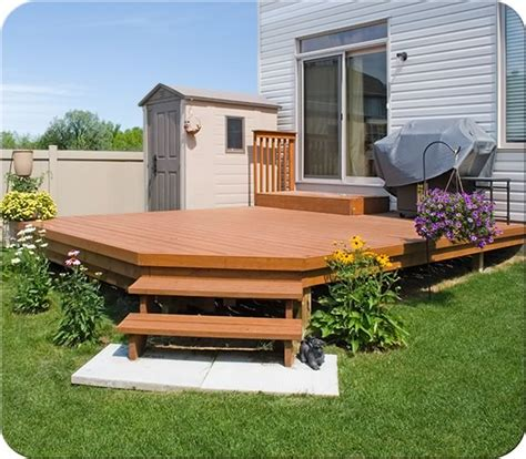 1 X 6 Pt Decking by 12 X 16 Wood Deck Pictures To Pin On Pinsdaddy