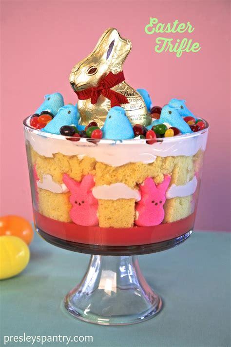 easter trifle easter lemon cake trifle