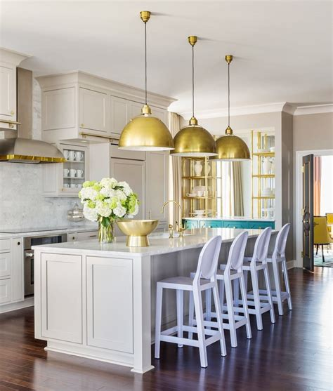 brass kitchen lights grey kitchen cabinets brass accents this or that cococozy 1777