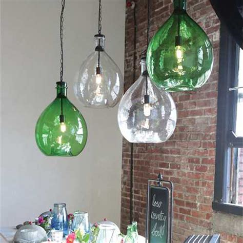 Oversized Glass Pendant Lamp   DA4690