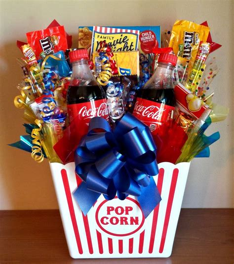 family gift ideas family movie night basket candy bouquet candy bouquets and more ide