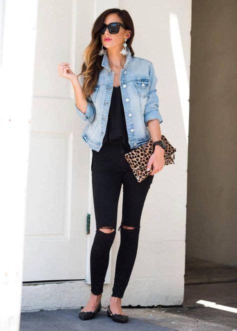 17 best Outfits con chamarras de mezclilla images on Pinterest | Chaquetas de mezclilla ...