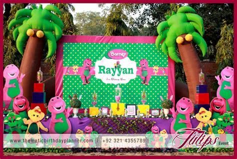 Barney Party Theme Ideas Planner In Pakistan