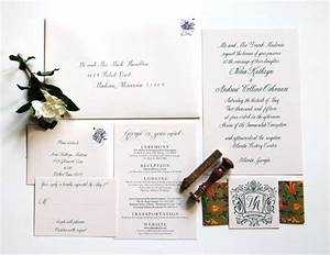 Classic southern wedding invitations calligraphy for Calligraphy dallas wedding invitations