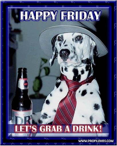 Friday Beer Quotes Tgif Dog Animal March