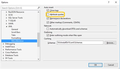 visual studio intellisense isnt working  xml