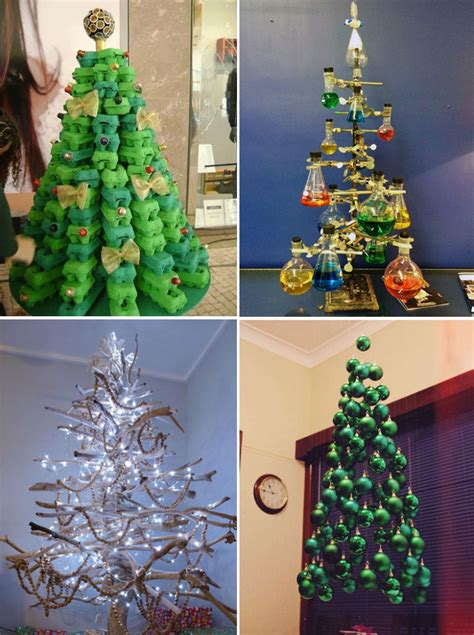 creative  original christmas tree ideas