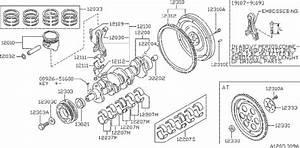 Nissan Stanza Clutch Flywheel Bolt  Manual  Piston