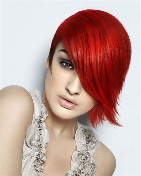 2018 Red Hairstyles Red Short Hair Ideas And Colours For