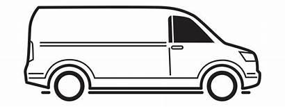 Van Vans Clipart Insurance Party Transparent Bus