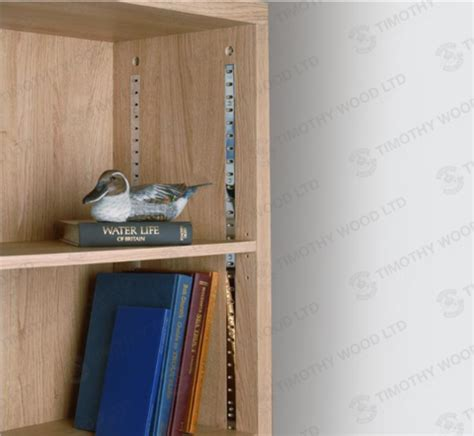 Bookcase Shelving Strips by 7470 Flat Bookcase Support Timothy Wood