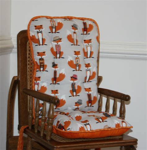 wooden high chair cushions