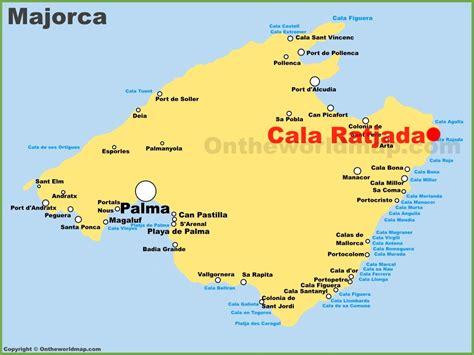 Cala Ratjada location on the Majorca map