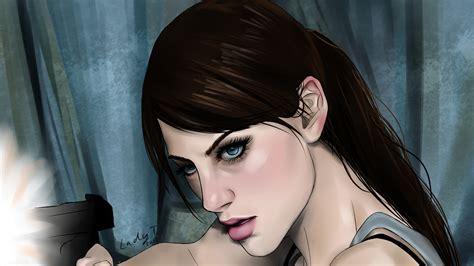Resident Evil Revelations 2 Wallpaper Artwork Jill Valentine Video Games Women