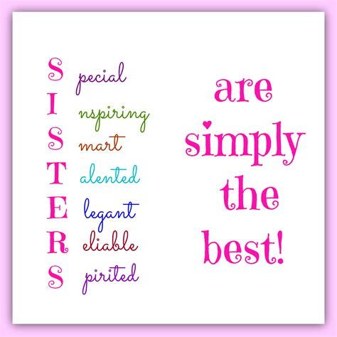 Sisters Are Simply The Best!  Sayings  Pinterest. Tumblr Quotes Virgo. Motivational Quotes Gold. Bible Quotes Exodus. Quotes About Love Not Meant To Be. Success Quotes Small. Positive Uplifting Quotes Pinterest. Crush Leaving Quotes. Movie Quotes Empire Records