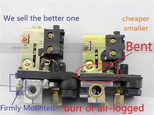 New Heavy Duty Air Compressor Pressure Switch Control