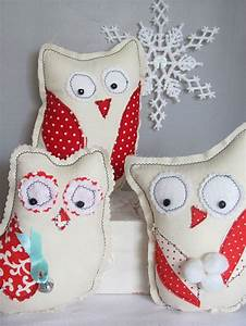 Easy Diy Folk Art Winter Owl  Christmas Gifts  Sewing Pattern Pdf  Tutorial  Make It Yourself