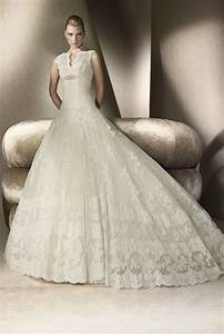 lace ballgown san patrick wedding dress 2012 onewedcom With san patrick wedding dress