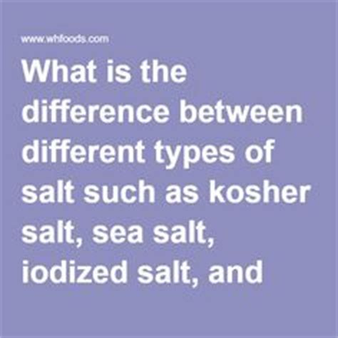 Sea Salt Around The Worlds And Salts On Pinterest