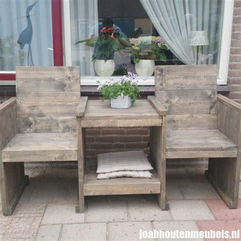 love seat tuin loveseat voor in de tuin joab houten meubels