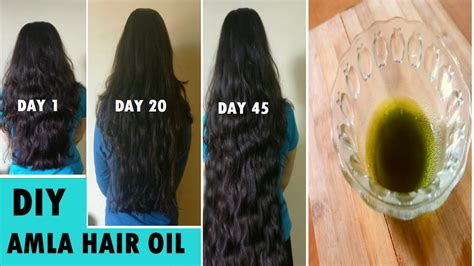 How to grow Long hair fast naturally - Amla Hair Oil for
